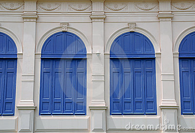Classic Blue window