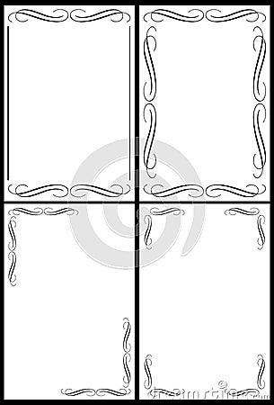 Classic border frames