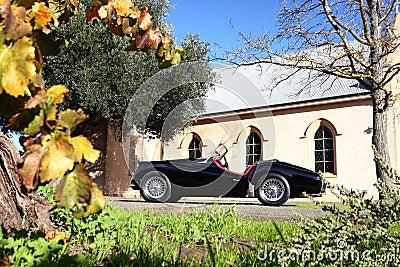 Classic British Sports Car Convertible