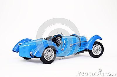 Classic Bugatti sports car