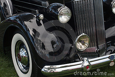 classic car front side