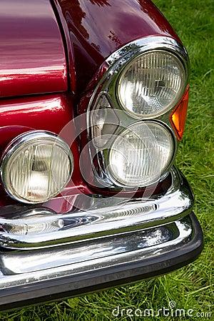 Classic car headlight