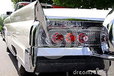 Classic car rear end