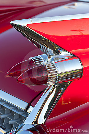 Free Classic Car Tail Lights Stock Photo - 20704490