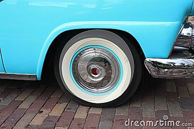 Classic Car Wheel