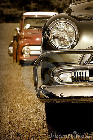 Free Classic Cars Stock Image - 8887001