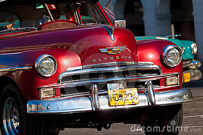 Classic cars  in Havana Editorial Photo