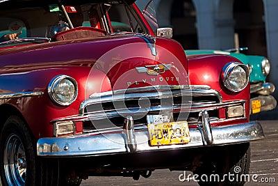 Classic cars  in Havana Editorial Photo