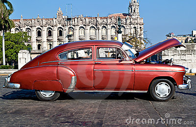 Classic cars  in Havana Editorial Photography