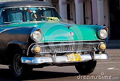 Classic cars  in Havana Editorial Image