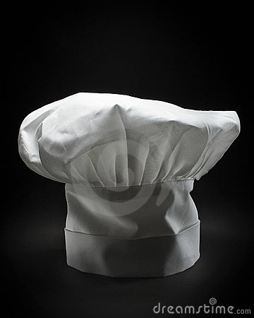 A classic chef hat