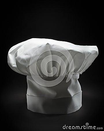 A classic chef hat