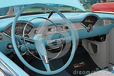 Classic 1955 Chevy Automobile Editorial Stock Image