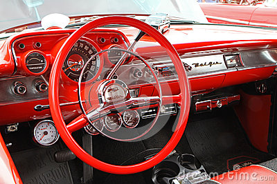 Classic 1957 Chevy Automobile Editorial Photo