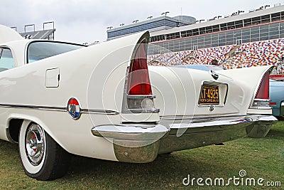 Classic Chrysler Automobile Editorial Photo