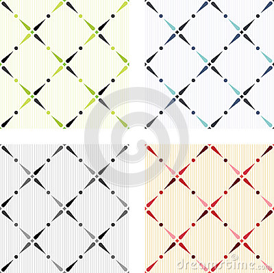Classic colored seamless textures