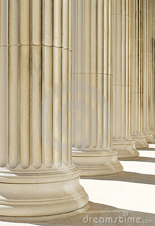 Classic columns background