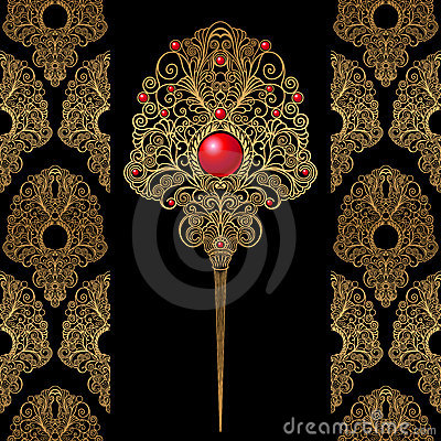 Free Classic Decoration And Wallpaper Background Royalty Free Stock Image - 8266666