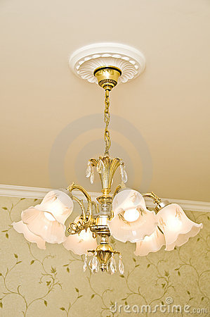 Classic design of chandelier