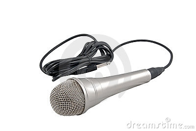 Classic dynamic microphone