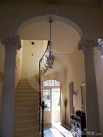 Classic entrance  Interior