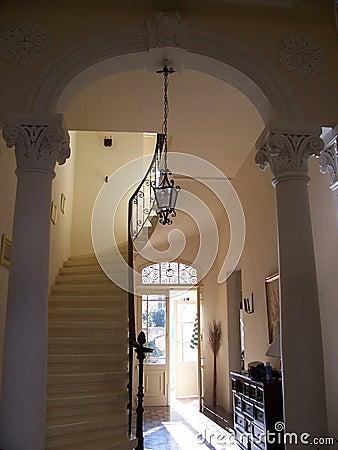 Classic entrance  Interior