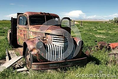 Classic farm truck