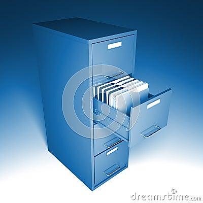 Classic file cabinet