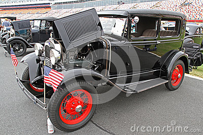 Classic Ford Automobile Editorial Stock Image