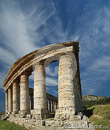 Classic Greek (Doric) Temple at Segesta