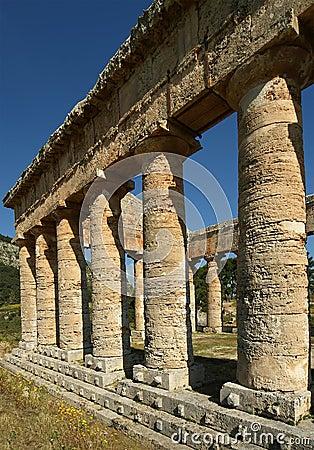 Classic Greek (Doric) Temple at Segesta, Sicily