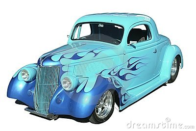 Classic Hot Rod Automobile
