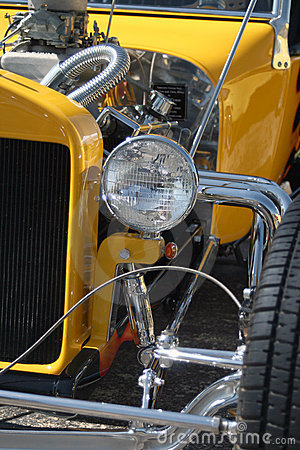 Classic hot rod front
