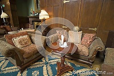Classic hotel sofas
