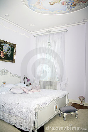 Classic interior - bedroom