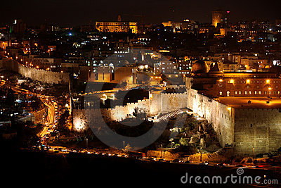 Classic Jerusalem - Night in old city