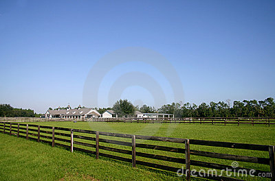 Classic Kentucky-style  Horse Barn located in FL