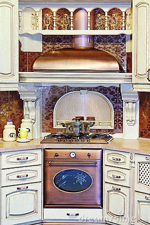 Classic kitchen interior