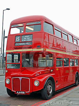 Free Classic London Bus Stock Photos - 8962523