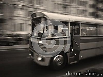Classic Malta Bus