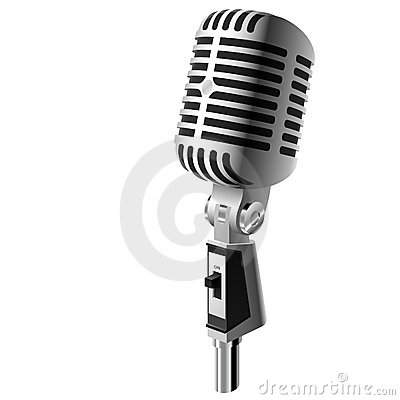 Free Classic Microphone Royalty Free Stock Photos - 6913708