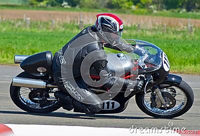 Classic motorbike racing Editorial Photo