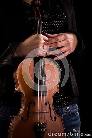 Classic Music instrument - violin