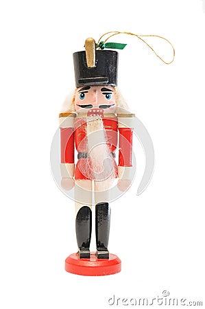 Free Classic Nutcracker Ornament Stock Image - 11444681