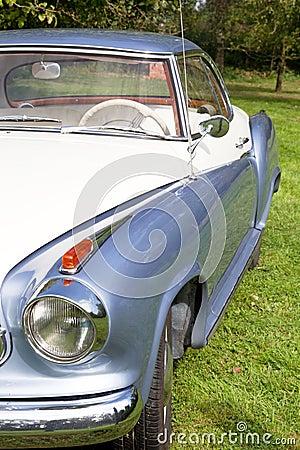 Classic old car - oldtimer