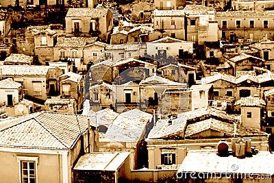 Classic old Italy ,Sicily, Modica