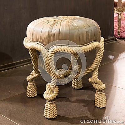 Classic padded stool
