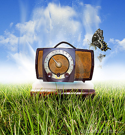 Free Classic Radio Royalty Free Stock Photo - 10850715