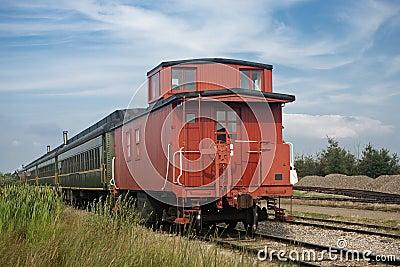 Classic railway wagon