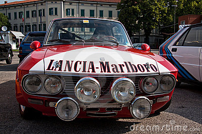 Classic rally car Editorial Image